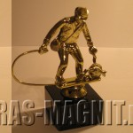 статуэтка рыбак,статуэтка наградная для рыбака,