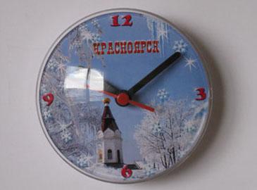 часы магнит на холодильник часовня Красноярск
