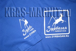 футболка с логотипом Зурбаган