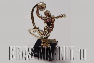 статуэтка баскетболист,награда баскетбол,