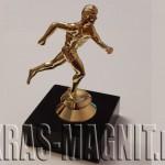награда бег,статуэтка наградная бегун,