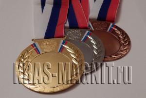 медали наградные комплект,медали с лентами триколор,награда медаль с лентой,