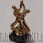 статуэтка танцоры,награда танцорам,приз на конкурсе танцев,