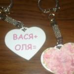 брелок сердце,брелок на ключи,брелоки для ключей,брелки для ключей,Брелки метал,