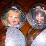 ёлочные шары с фото,ёлочные шарики с фотографией,