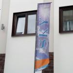 длинный флаг,флаг купить Красноярск,флаг Красноярска,