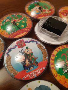 часы магнит на холодильник,магниты на холодильник,сувениры красноярск,